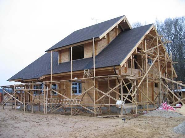 Этапы строительства дома фото
