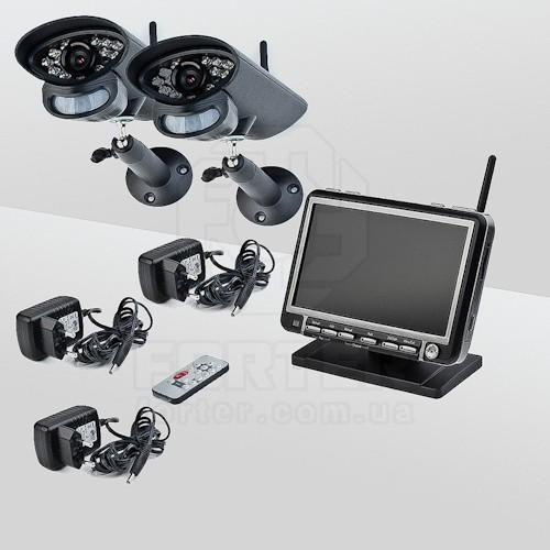 Беспроводное видеонаблюдение. Беспроводные камеры и регистратор