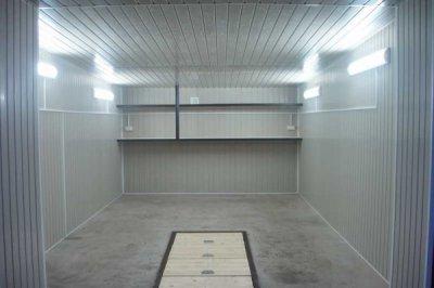 Выбор материалов для внутренней отделки гаража