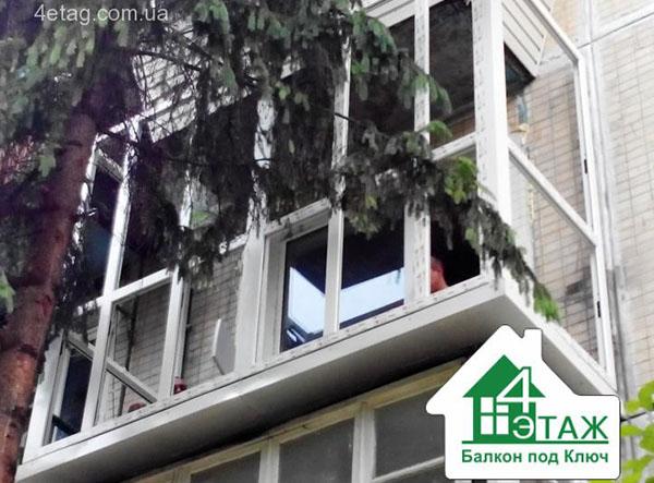 """Расширение балконов в киеве - увеличение площади в 2 раза! """"."""